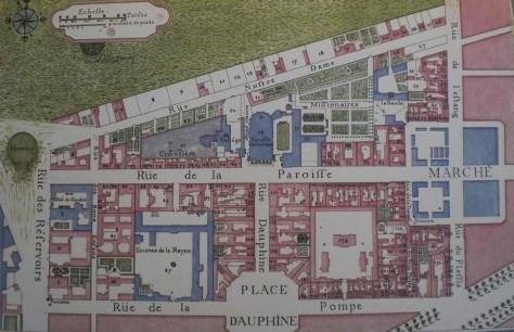 plan du quartier notre dame