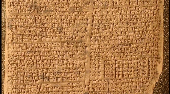 Les éditions critiques dans l'historiographie des sciences anciennes : le cas de l'histoire des mathématiques en Mésopotamie
