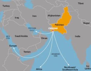 La base de Gwadar fait partie du fameux « collier de perles » mis en place par Pékin.