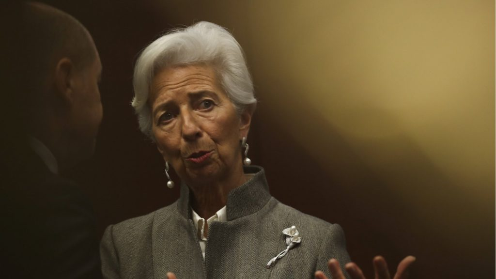 Christine Lagarde. Au cœur de la tourmente