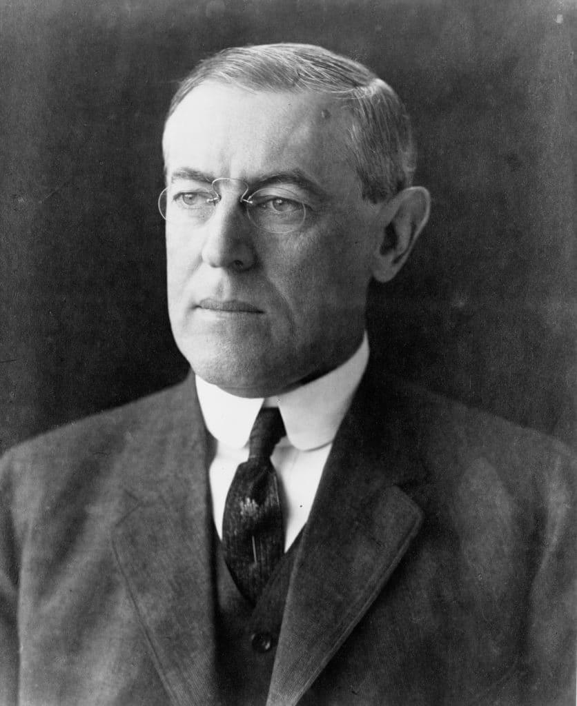 1919, Mackinder contre Wilson