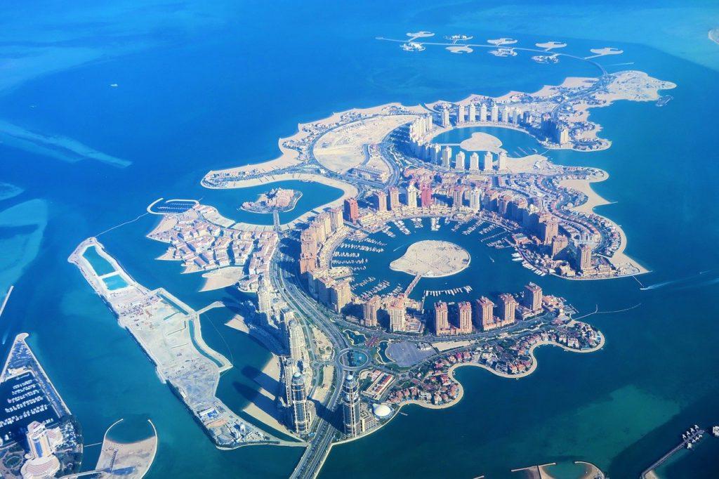 Le Qatar, médaille d'or