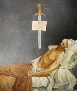 Les Derniers moments de Michel Lepeletier de Jacques-Louis David