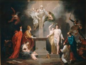 Allégorie du Concordat de 1801 par Pierre Joseph Célestin François<