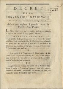 Décret du 1er août 1793
