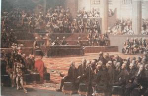 Réunion plénière des États Généraux à Versailles