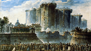 Démantèlement de la prison de la Bastille