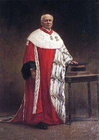Alexis Ballot-Beaupré (1839-1917) en tenue de premier président de la Cour de cassation