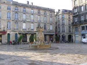 Place (actuelle) du Parlement de Bordeaux