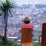 Pensando en el futuro (Mirador La Pedrera, Quetzaltenango) —Aland Loarca