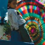 Boy and kite —Iván Castro