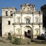 Renaissance façade of Church of Nuestra Señora de los Remedios
