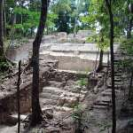 Archeological work in progress at El Mirador