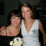 Bartenders Sarah and Lindsay at Monoloc