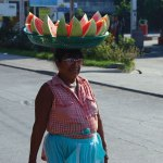 Watermelon lady (Puerto San José) —Melba Milak
