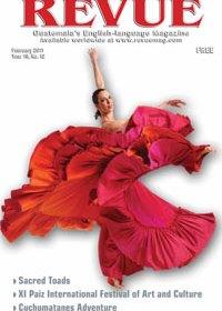 Dancer: part of the XI Paiz International Festival (photo by Eduardo Patino)
