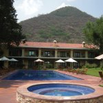 The grounds include a luxurious boutique hotel
