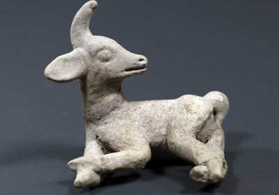 Mayan deer whistle (courtesy of Museo de Arte Precolombino y Vidrio Moderno, Casa Santo Domingo)