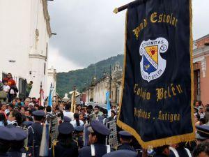 Celebration in La Antigua Guatemala