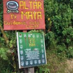 Maya calendar signs and alter on the trail