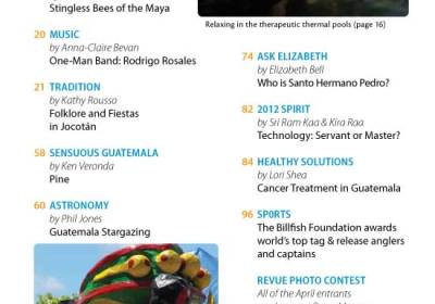 April 2012 in Revue Magazine