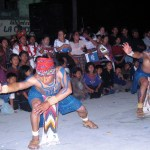 Traditional dancers entertain the crowds