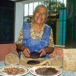 The producer of Chocolate San Juan, Doña Josefa (photo by Thor Janson)