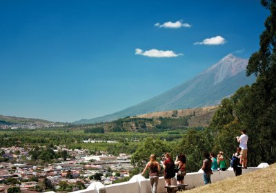 Canícula days around Antigua Guatemala (photo by Rudy A. Giron)