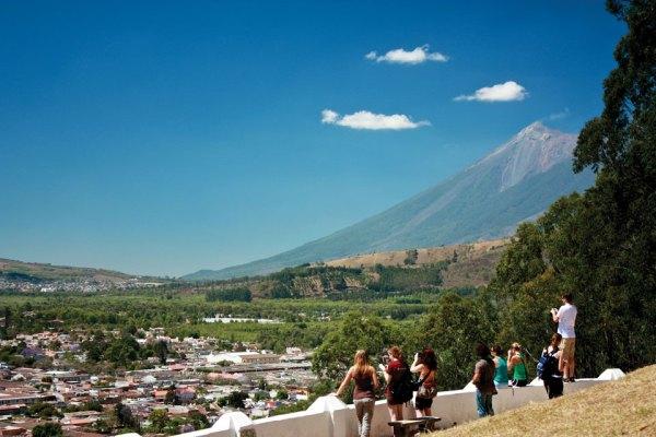 Canícula days around Antigua Guatemala (photo by Rudy A. Giron)