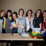 "Presentation of the book ""Sin Límites"" by Andrea Cardona (photo by Nelo Mijangos)"