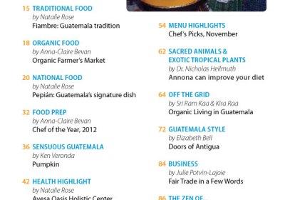 November 2012 in Revue Magazine