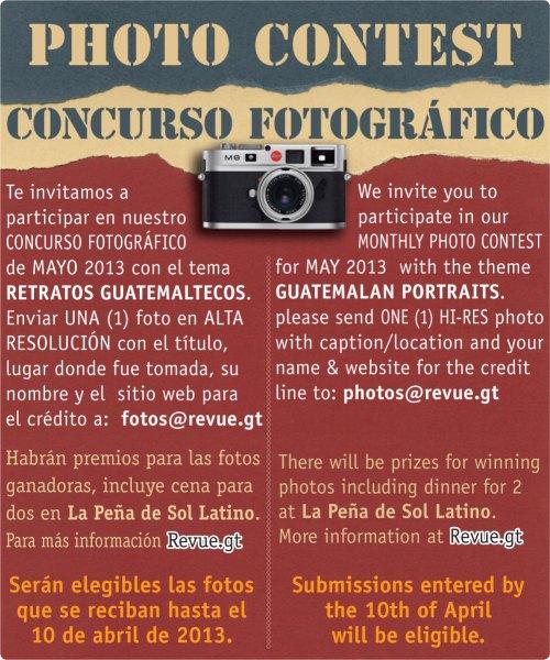 REVUE's May 2013 Photo Contest: Guatemalan Portraits