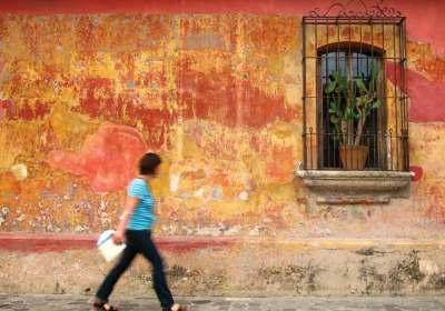 Walking La Antigua