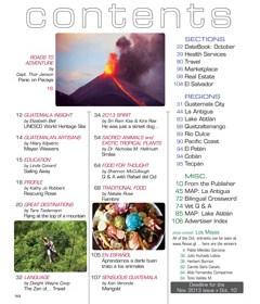 October 2013 in Revue Magazine