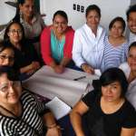 AGALI 2013 Fellows from Honduras at the week-long advocacy training in La Antigua Guatemala