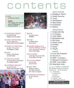 March 2014 in Revue Magazine