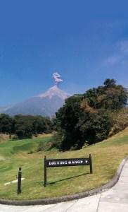 Overlooking the 10th hole, Fuego Maya (JB)