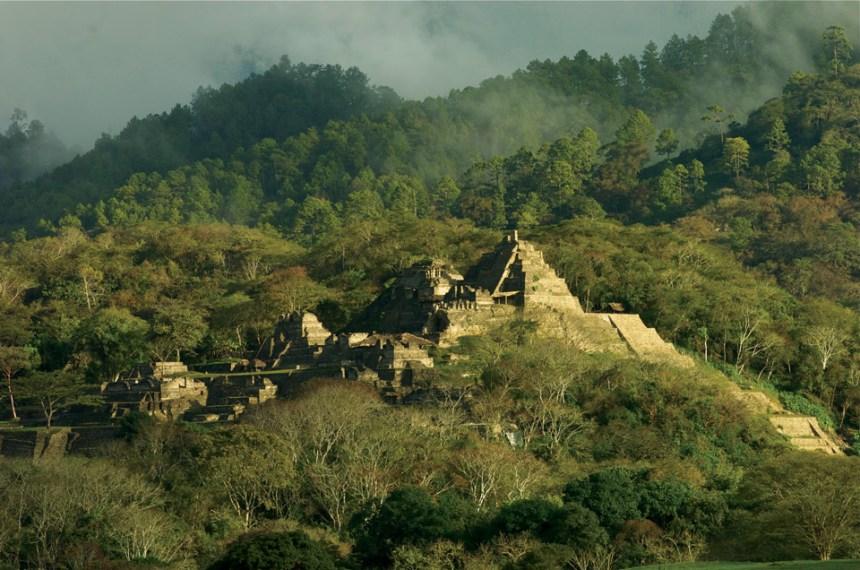 Toniná Altiplano Chiapas