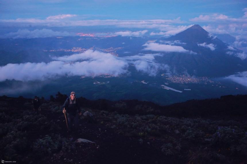 Guatemalan Volcano Purgatory Path