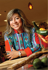 Guatemala award-winning chef and author Amalia Moreno-Damgaard