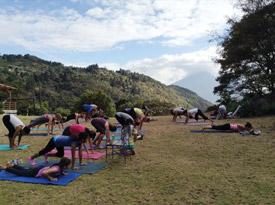 Guatemala yoga