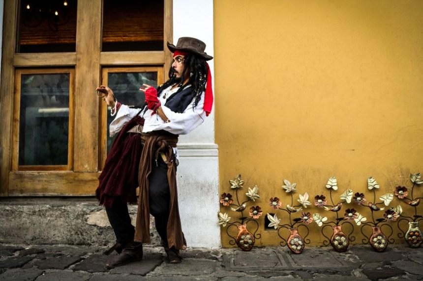 "3rd PLACE ""Jack Sparrow atrapado (trapped) en Antigua"" by Jacqueline Valle. Prize: Q50"
