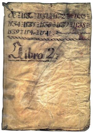Second book of Cabildo Guatemala
