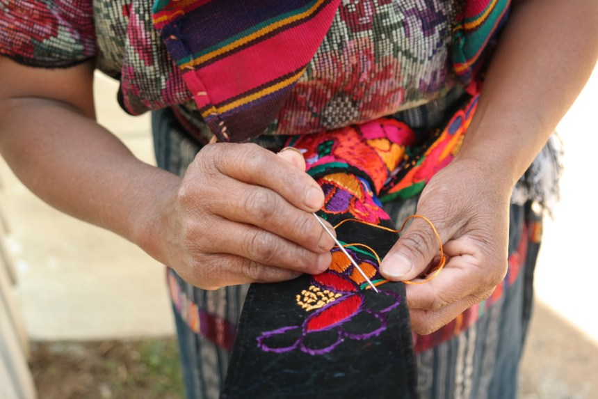 "2nd Place Judges Vote ""Blessing hands"" Chichicastenango by Cristhian Salazar"