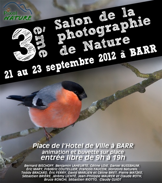 3ème salon de la photographie de Nature de Barr