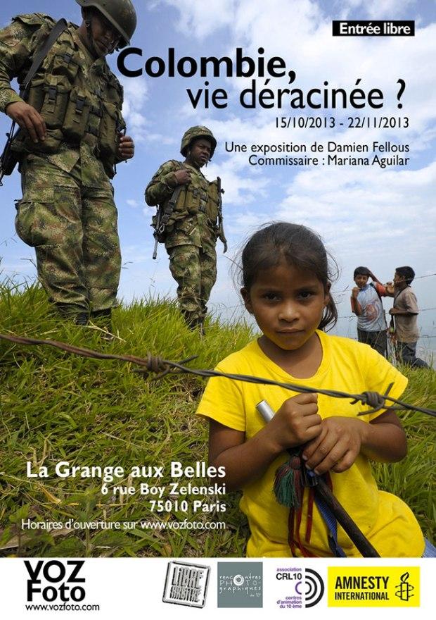 Flyer-Colombie-vie-deracinnee