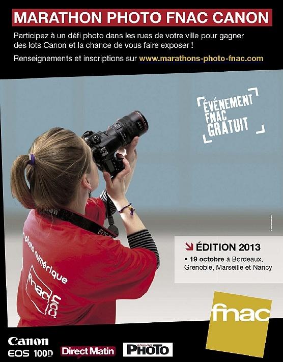Couverture marathon FNAC CANON