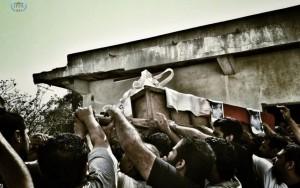 Mohammed Radhi a pris la première place de la catégorie News avec cette photo très touchante et forte en émotions