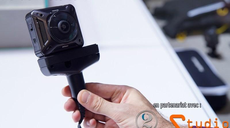 Caméra d'action à 360 ° - Nikon Keymission 360 à double objectifs