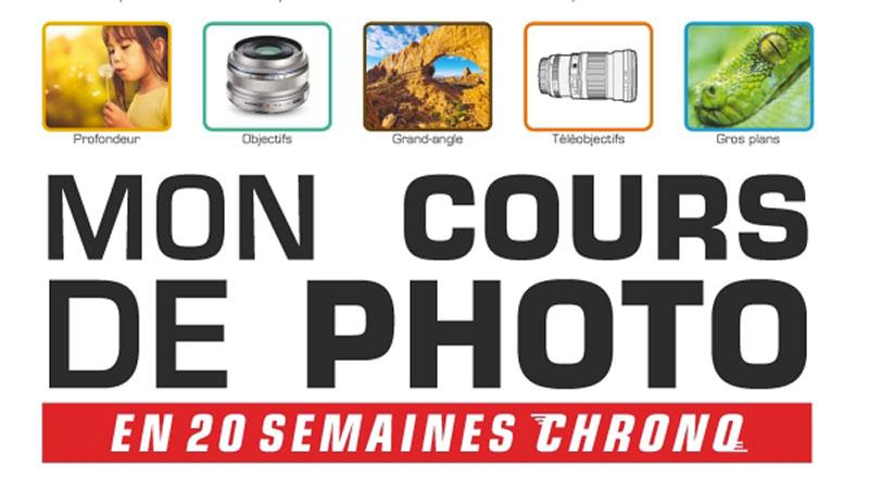 Livre : Mon cours de photo en 20 semaines chrono